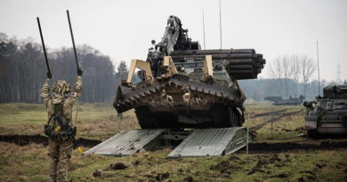 Armoured Vehicle Launched Bridge (AVLB)