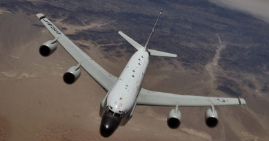 Boeing RC-135 Spy Aircraft