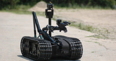 Bomb Disposal Robot History