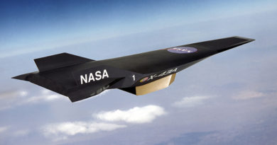 NASA X-43 Aircraft