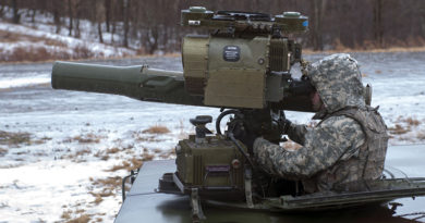 TOW Anti Tank Missile