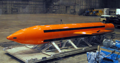 The Mother of All Bombs (MOAB)