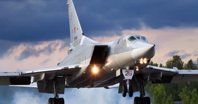 Tupolev Tu-22M Bomber