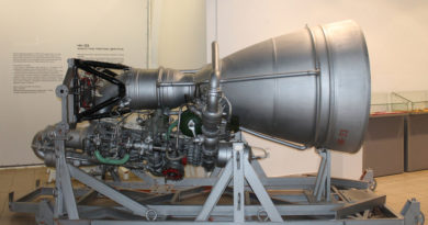 Russian Moon Rocket Engine