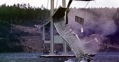 Tacoma Narrows Bridge Disaster