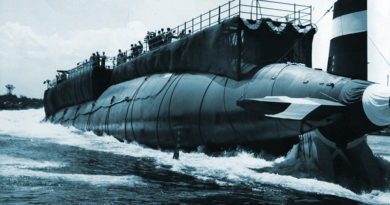 USS Thresher Submarine Disaster